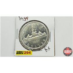 Canada Silver Dollar: 1959