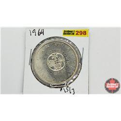 Canada Silver Dollar: 1964