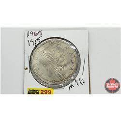 Canada Silver Dollar: 1965