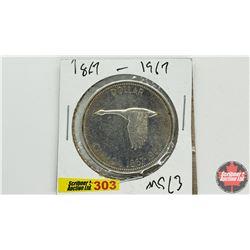 Canada Silver Dollar: 1867-1967