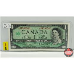 Canada $1 Bill 1967 (Replacement) S/N# *BM1596562
