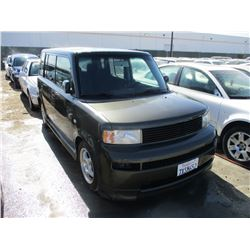 TOYOTA SCION XB  2005 L/S-DONATION