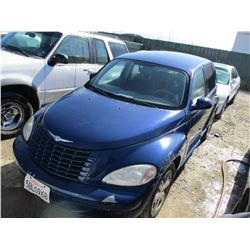 CHRYSLER PT CRUISER 2002 APP DUP SALV-DON