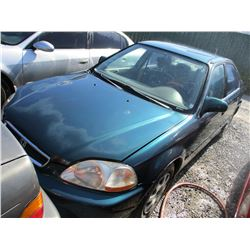 HONDA CIVIC 1998 L/S-DONATION