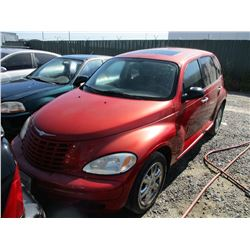 CHRYSLER PT CRUISER 2004 APP  DUP/T-DON
