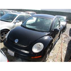 VW NEW BEETLE 2010 T-DONATION