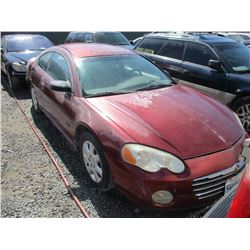 CHRYSLER SEBRING 2003 T-DONATION