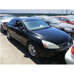 HONDA ACCORD 2005 SALV T/DONATION