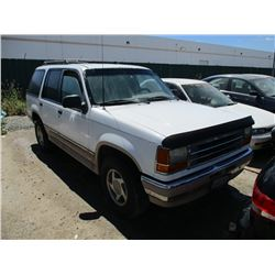 FORD EXPLORER 1994 T/DON/TMU