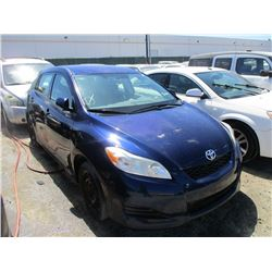 TOYOTA MATRIX 2009 L/S-DONATION