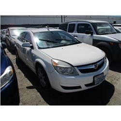 SATURN AURA 2007 SALV T/DONATION