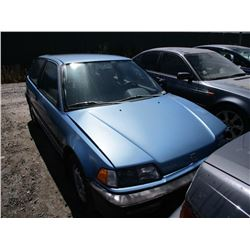 HONDA CIVIC 1991 L/S-DONATION
