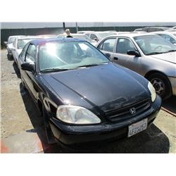 HONDA CIVIC 1999 L/S-DONATION