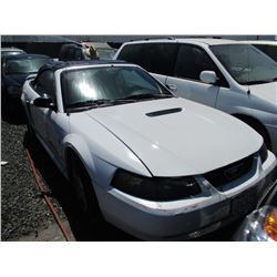 FORD MUSTANG 2001 T-DONATION