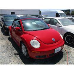 VW BEETLE 2007 T-DONATION