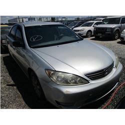 TOYOTA CAMRY 2005 L/S-DONATION