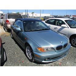 BMW 3 SERIES 2004 T-DONATION