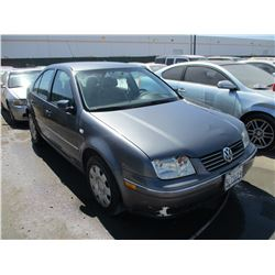 VW JETTA 2005 T-DONATION
