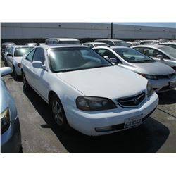 ACURA CL 2002 APP  DUP/T-DON