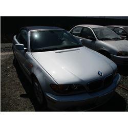 BMW 325CI 2004 T-DONATION