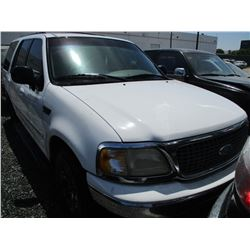 FORD EXPEDITION 2000 SALV T/DONATION