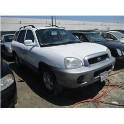 HYUNDAI SANTA FE 2002 T-DONATION