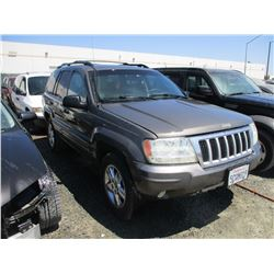 JEEP GR CHEROKEE 2004 L/S-DONATION