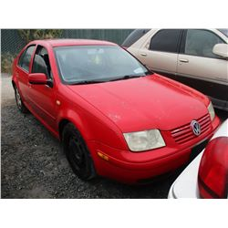 VW JETTA 2000 L/S-DONATION