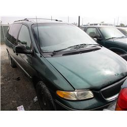 CHRYSLER TOWN AND COUNTRY 1996 T-DONATION