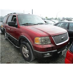 FORD EXPEDITION 2005 T-DONATION