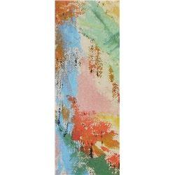 Small painting for you of trees and cascades - LangdonArt - peinture petite d'arbres et cascades