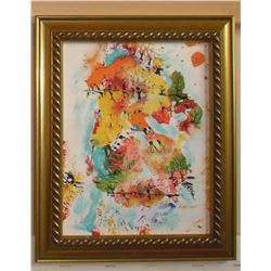 2 Falls (in One original painting) created by LangdonArt - 2 Automnes (en une peinture originale)