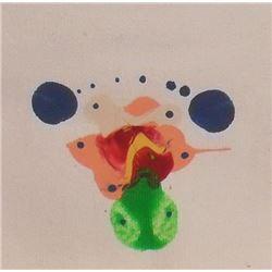 LangdonArt fun painting Five Birds Planets - peinture comique LangdonArt Planètes aux cinq oiseaux