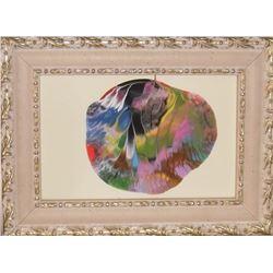 peinture LangdonArt Terre imaginée extraterrestre = Planète #700 - LangdonArt painting Planet #700