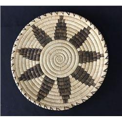 Tohono O'Odham Morning Flower Design Basket