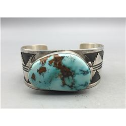Exquisite Turquoise Bracelet by Ernest Roy Begay