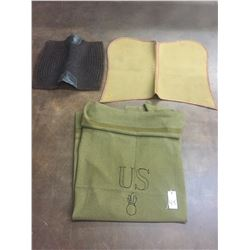 Military saddle pads and blanket