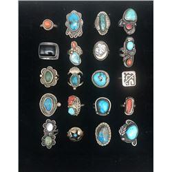 20 Vintage Rings