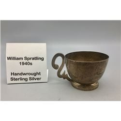 1940s Handmade Silver Cup by William Spratling