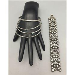 Group of Bangle Bracelets