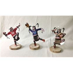 Three Whimsical Koshari Clowns
