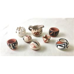 Group of Miniature Pueblo Pottery