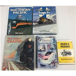 Group of Railroad Books