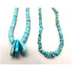 Two Turquoise Necklaces