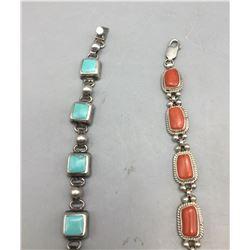 Two Link Bracelets