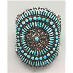 Vintage Zuni Cluster Bracelet