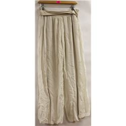 SX MADE IN ITALY SHEER WIDE LEG LADIES PANT