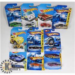 FLAT OF ASSORTED HOT WHEELS CARS