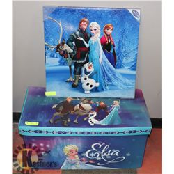 FROZEN TOYBOX AND FROZEN PICTURE