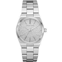 NEW MICHAEL KORS CHANNING ST. STEEL WATCH